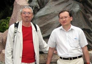 В. Бондаренко и М. Дроздов